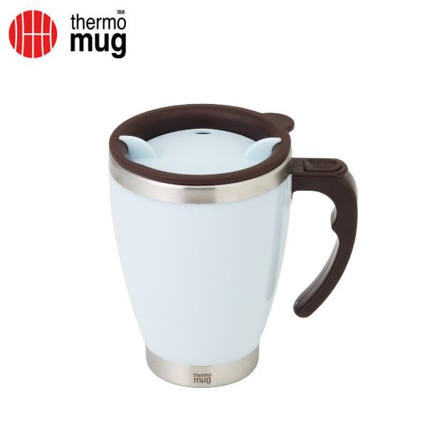 thermo mug サーモマグ ラウンドマグ 400ml ブルー