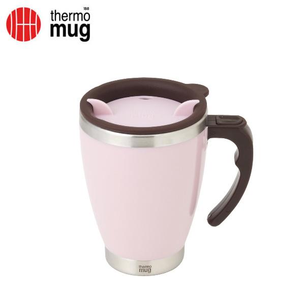 thermo mug サーモマグ ラウンドマグ 400ml ピンク