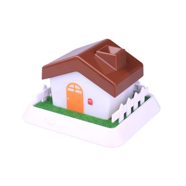 セラヴィ HOUSE Mini Hnmidifier ハウス型 超音波加湿器 ブラウン CLV-267 (sb)【送料無料】