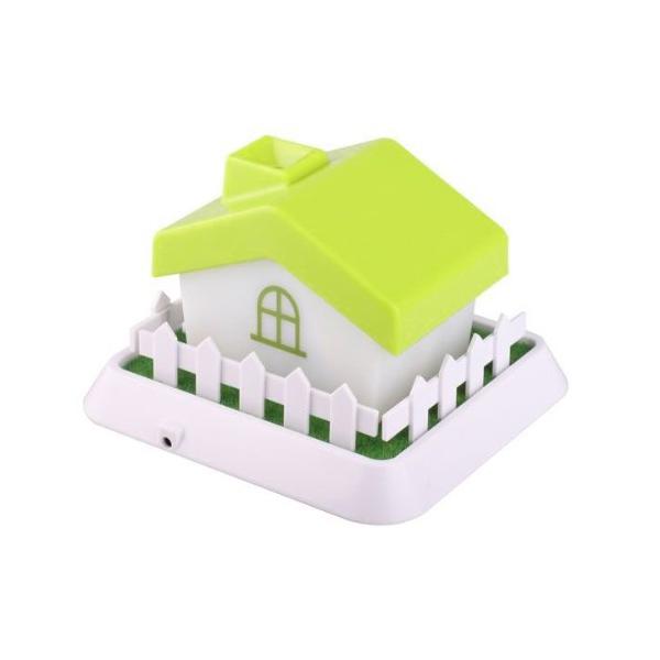 セラヴィ HOUSE Mini Hnmidifier ハウス型 超音波加湿器 グリーン CLV-267 (sb)【送料無料】