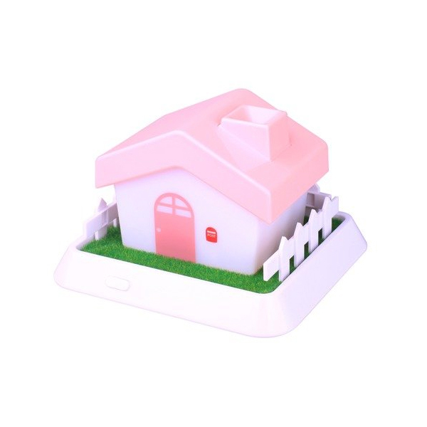 セラヴィ HOUSE Mini Hnmidifier ハウス型 超音波加湿器 ピンク CLV-267 (sb)【送料無料】