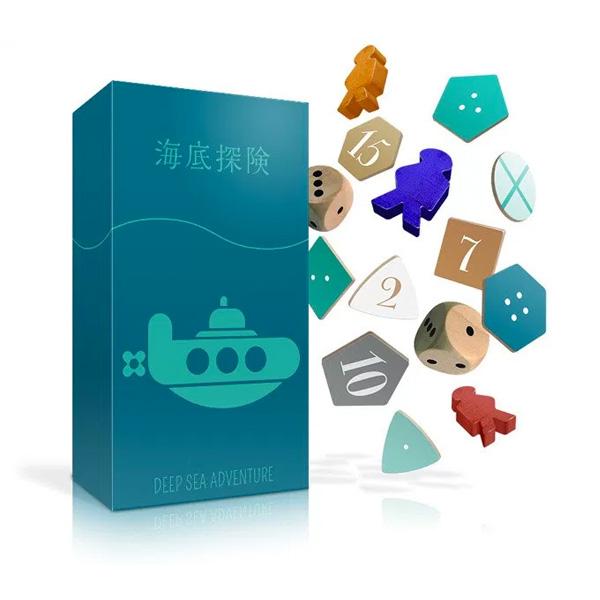 オインクゲームズ テーブルカードゲーム 海底探険 DEEP SEA ADVENTURE (sb)【送料無料】