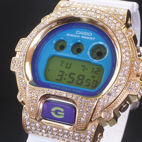 CASIO カシオ 【G-SHOCK】当店限定デコレーションベゼル仕様  DW-6900SC-GDCL(sb)【送料無料】【処分セール】