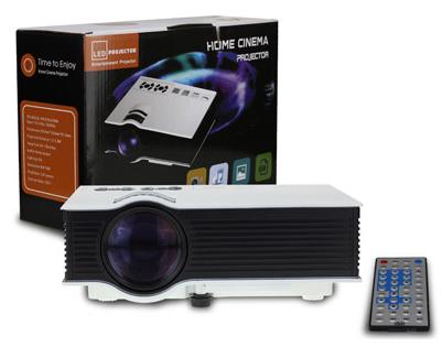 高性能 多機能 HDMI対応 LEDプロジェクター FF-5560 (sb)【送料無料】