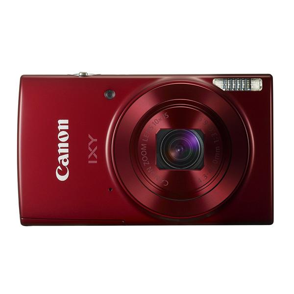 Canon キャノン デジタルカメラ IXY 光学10倍ズーム レッド IXY190RE (sb)【送料無料】