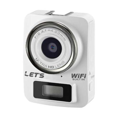 4K&Full HD 超ミニカメラ ホワイト