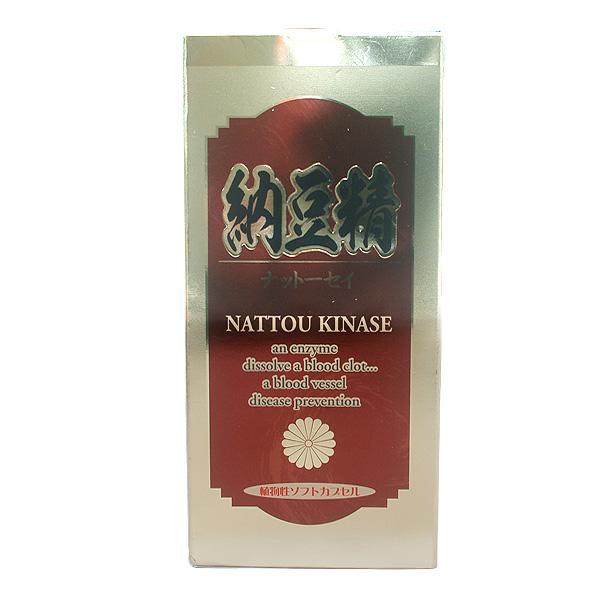 納豆精 ナットーセイ 植物性ソフトカプセル ナットーキナーゼ【送料無料】