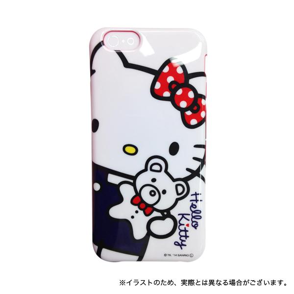 ハローキティ iPhone6対応ソフトジャケット アップ 【メール便送料無料】 アップ